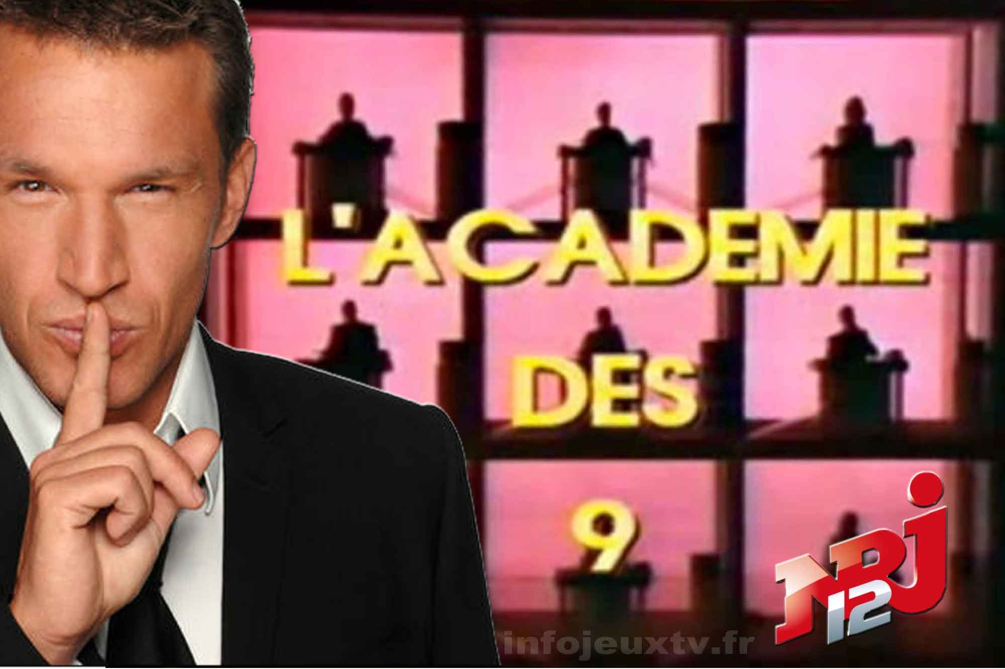 Benjamin Castaldi animera l'académie des 9 sur NRJ12