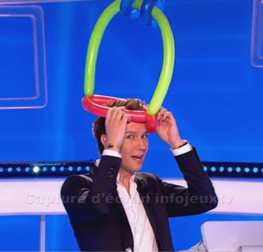 Cyril et son chapeau en ballon