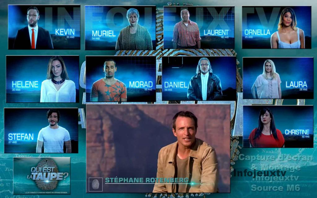 Les 10 Candidats de 'Qui est la Taupe'