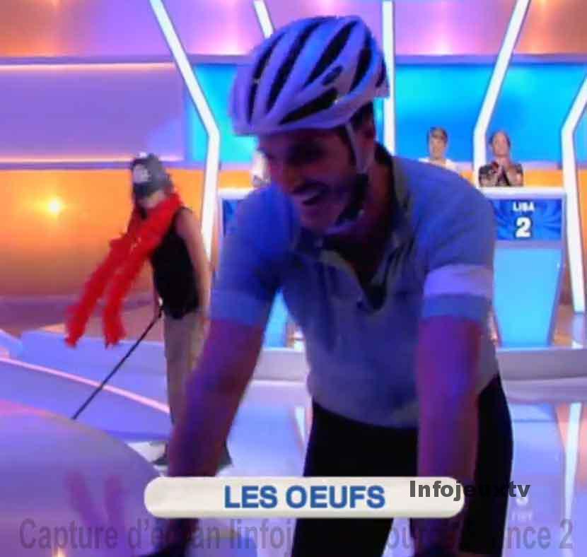 Fabien en cycliste dans NOPLP