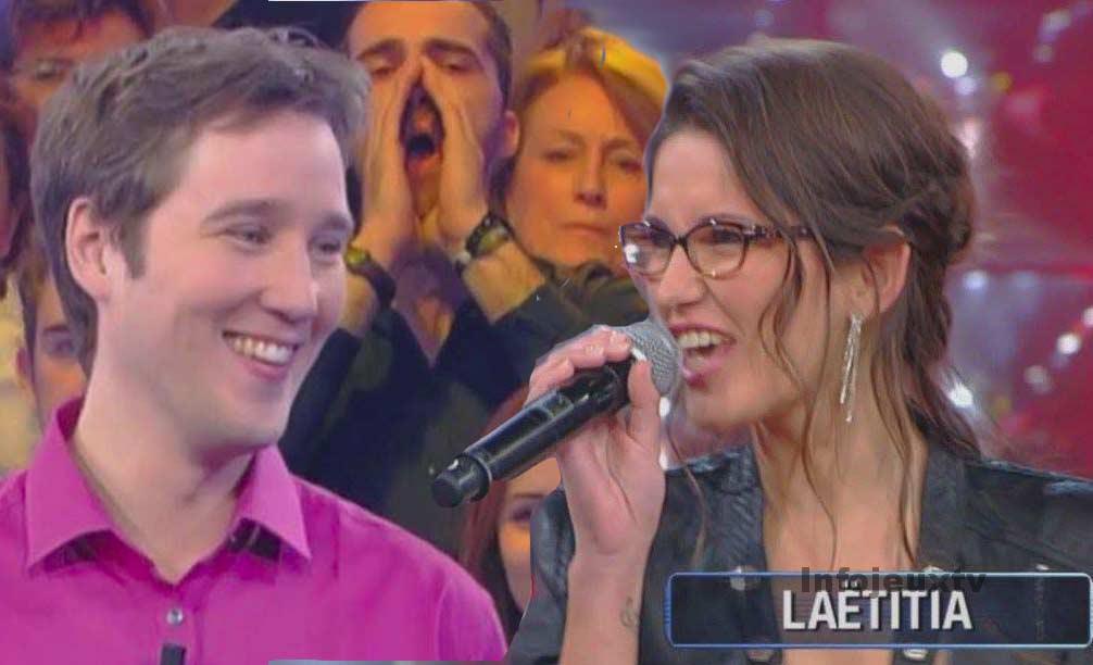 Gauthier et Laëtitia candidat de la 2000ème émission de N'oubliez pas les paroles