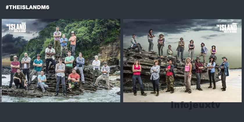 Les aventuriers et aventurières 2016 de The Island