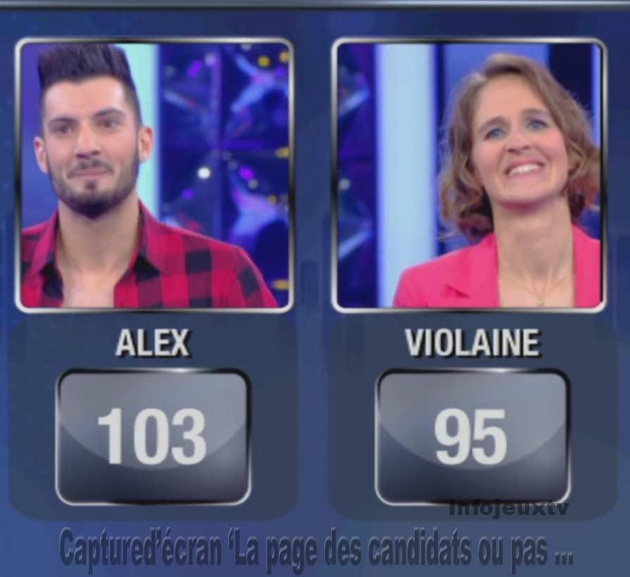 Violaine Vs Alex