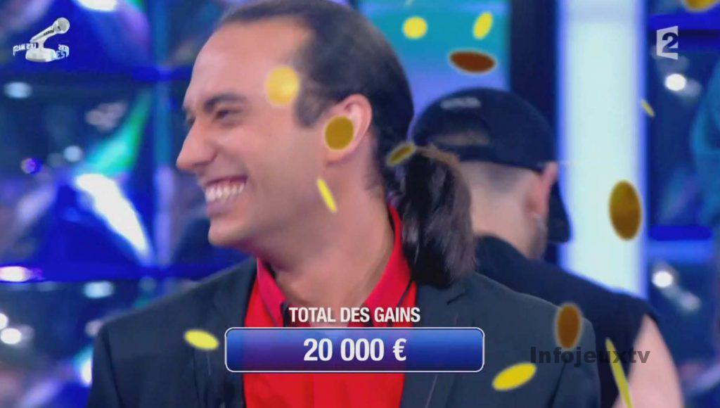 Hervé 20 000€ Masters Noplp