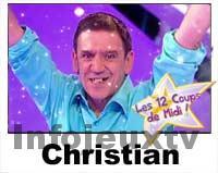 Christian 12 coups de midi